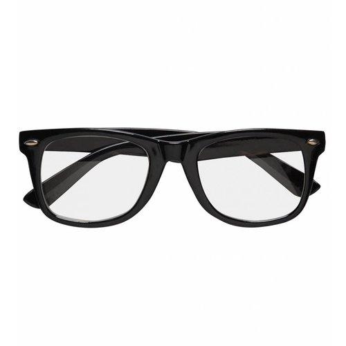Bril Karakter (Zwart)