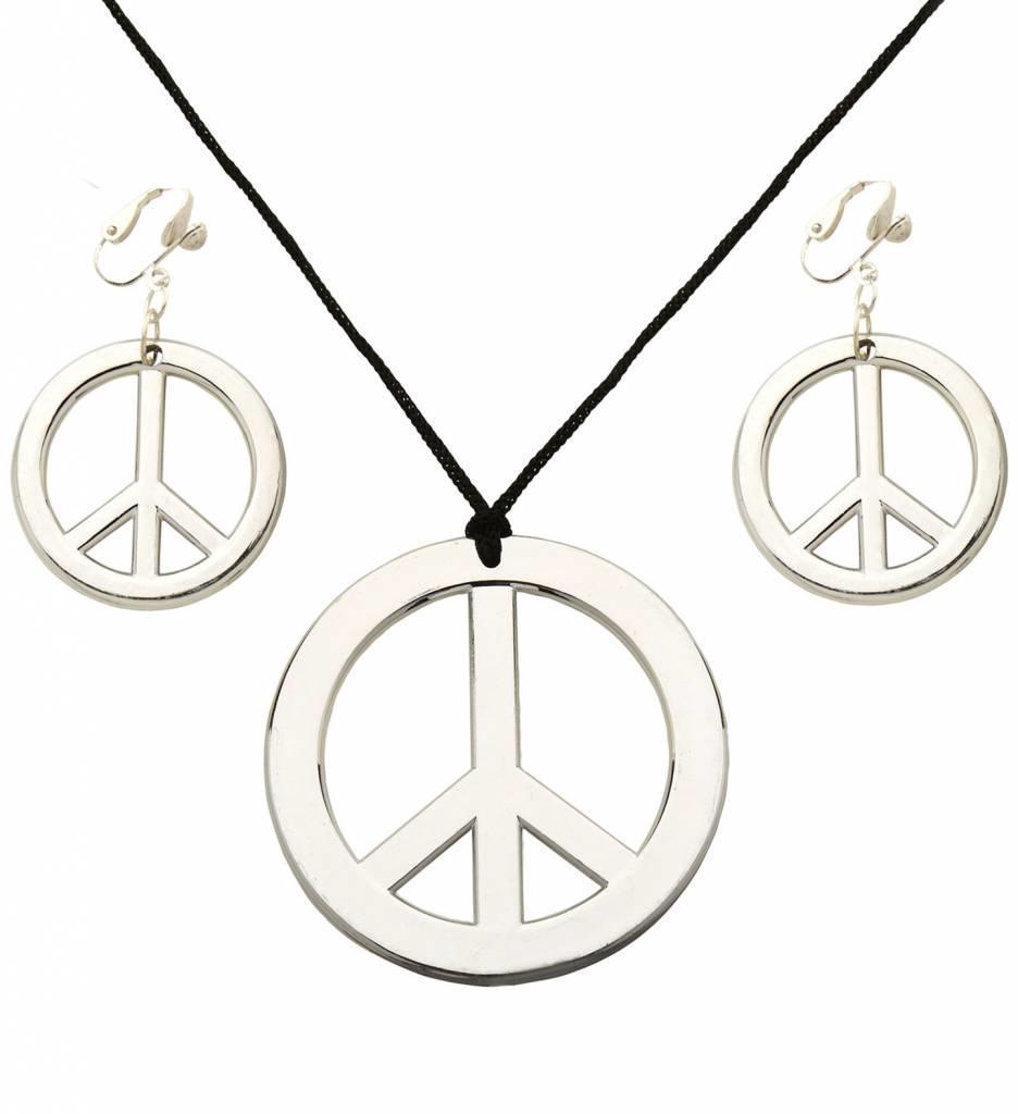 Hippie Set Kettingen En Oorringen