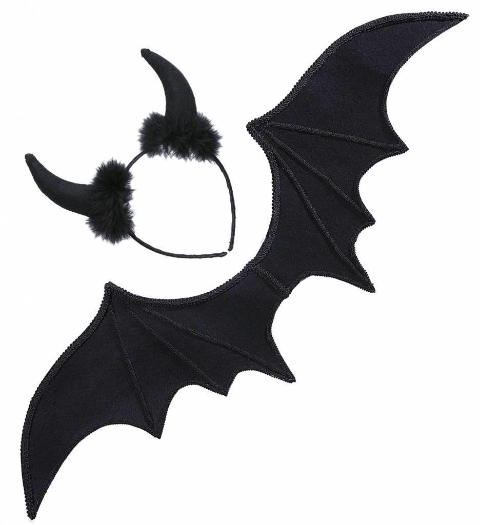 Duivel Set Zwart