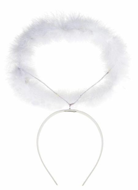 Haarband Met Aureool, Wit