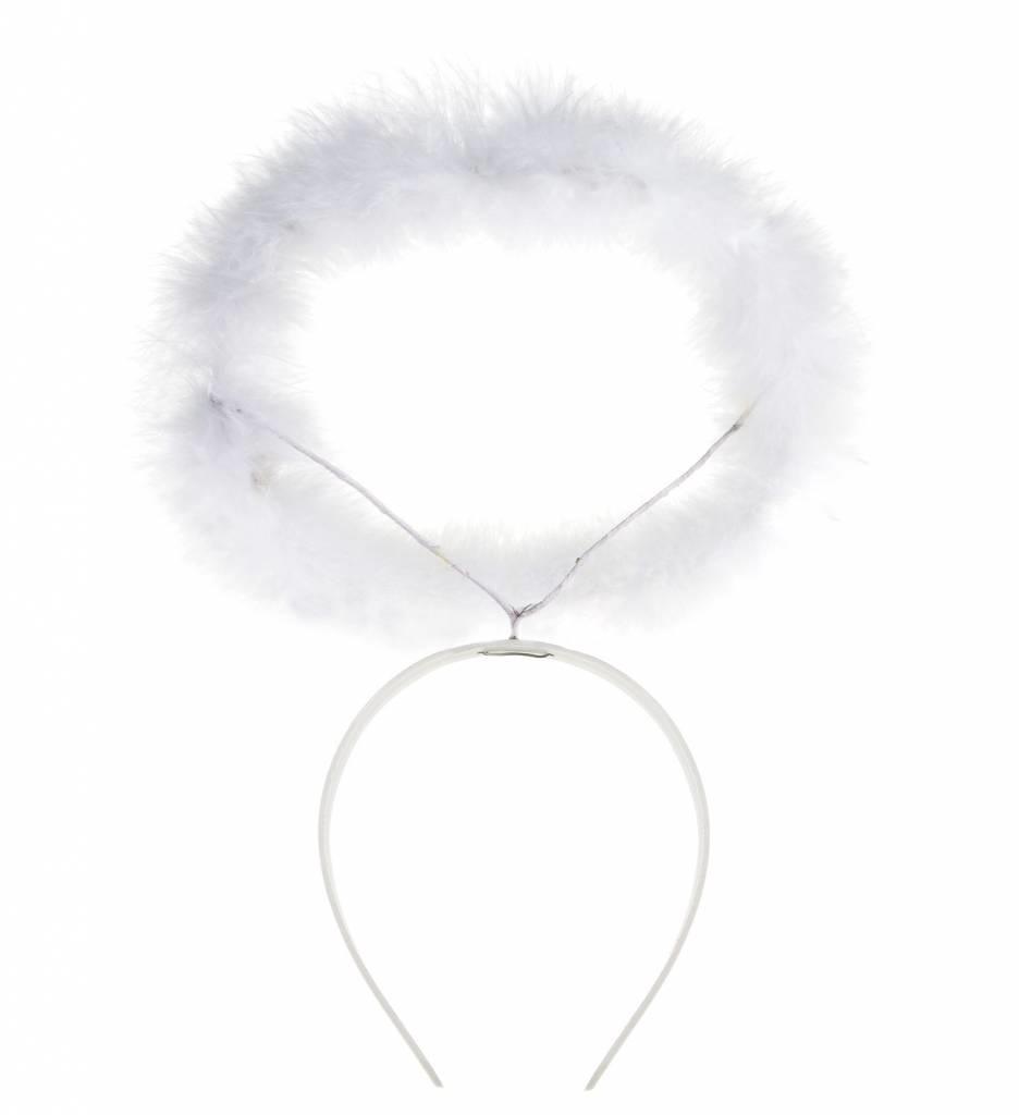 Haarband Met Aureool Wit