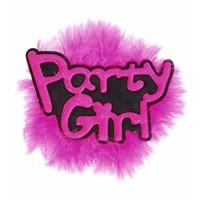 "Broche ""Partygirl"""