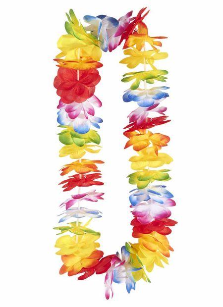 Luxe Meerkleurige Hawaii Krans
