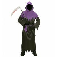 Widmann Zwart Spook Kostuum Kind
