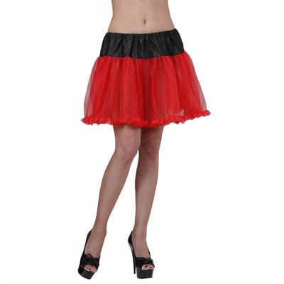 Petticoat Zwart/Rood