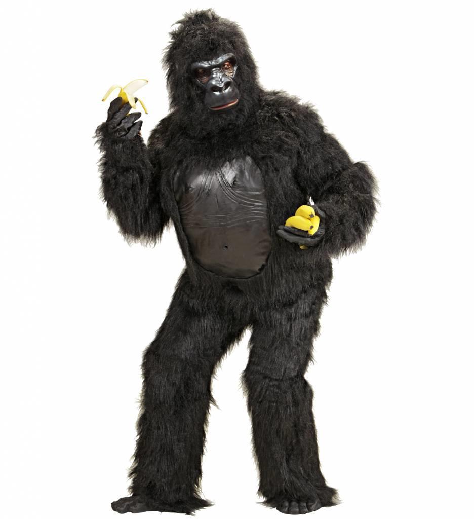 Plushe Kostuum Gorilla