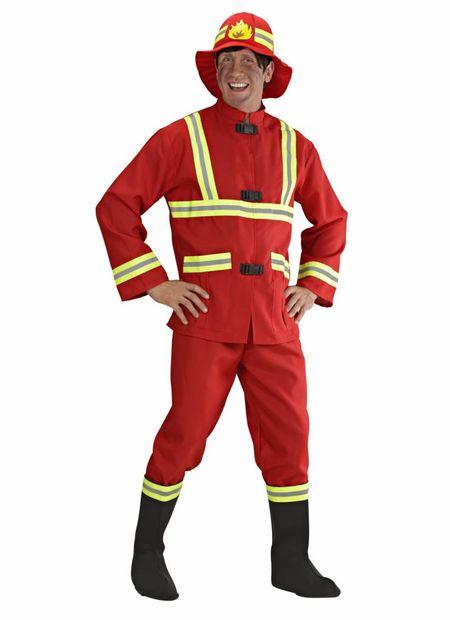 Brandweerman, Fiberoptic  Kostuum