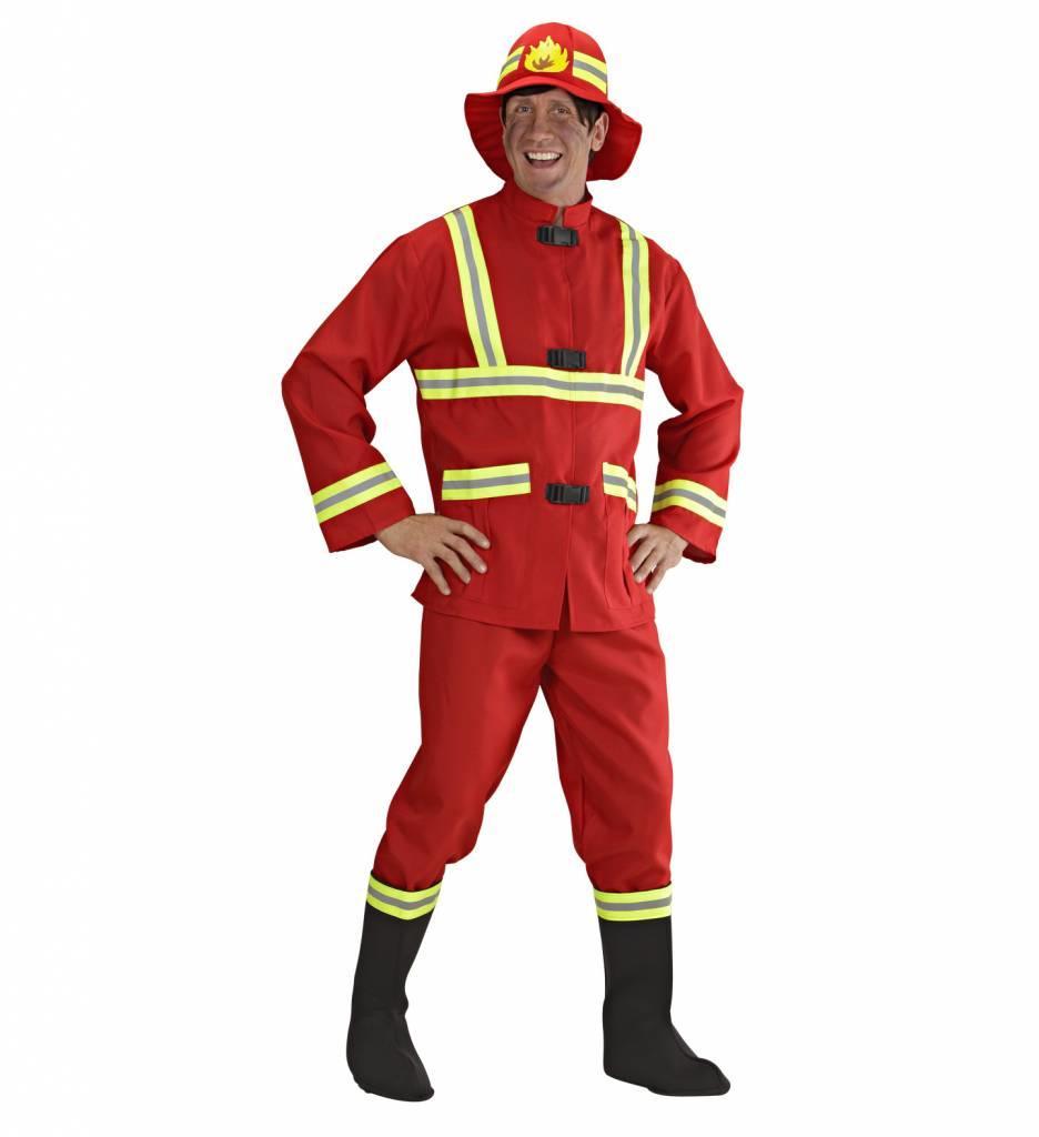 Brandweerman Kostuum
