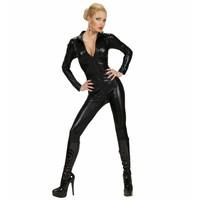 Widmann Catsuit Zwart Kostuum