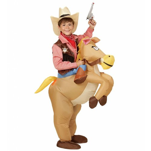 Widmann Opblaasbaar Paard Kind