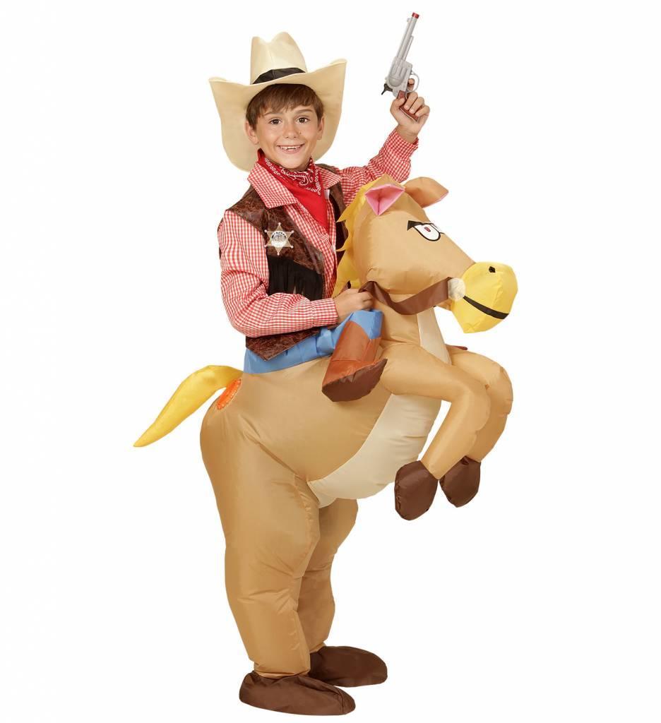 Opblaasbaar Paard Kind