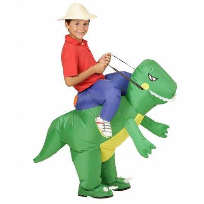 Opblaasbare Dinosaurus pak  Kind