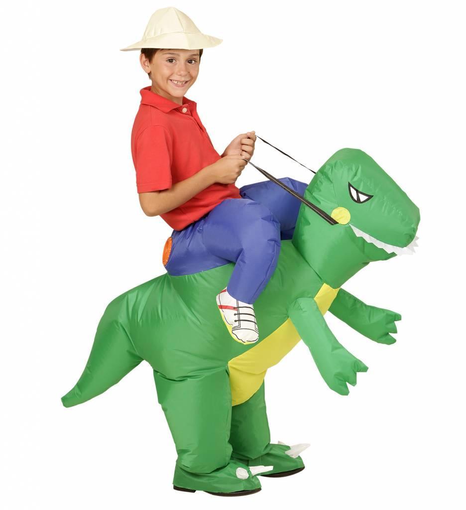 Opblaasbare Dinosaurus Kind