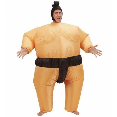 Opblaasbaar Kostuum Sumo Worstelaar