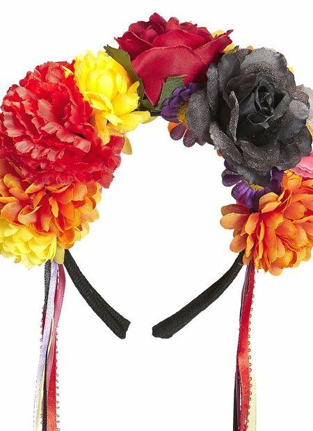 Hoofband bloemen