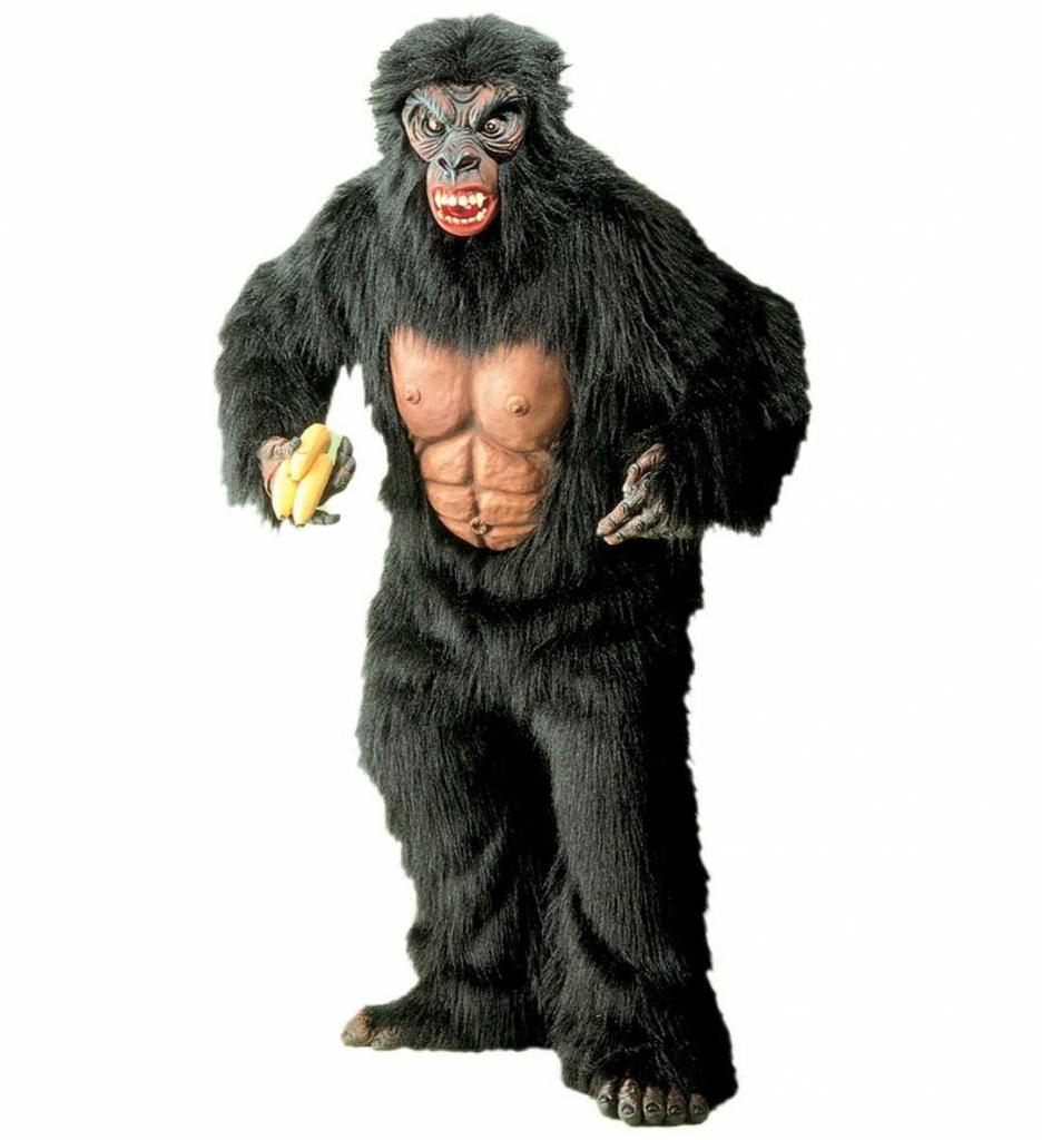 Kostuum King Kong In Plushe