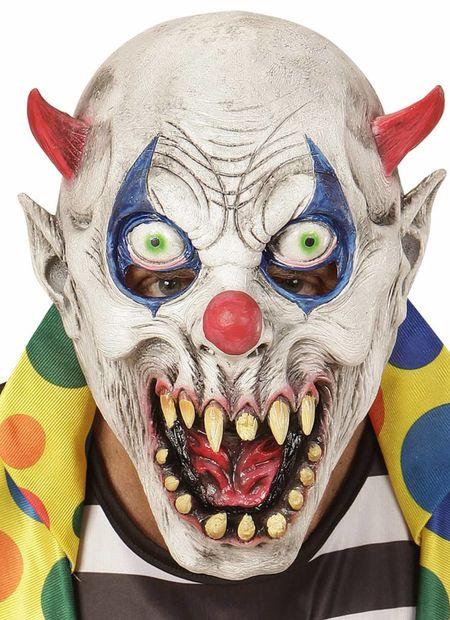 Kindermasker duivelse clown