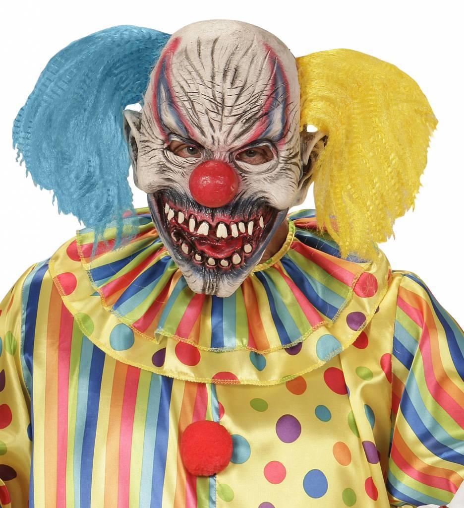 Masker Slechte Clown Met Haar