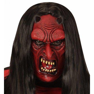 Masker Duivel Zonder Haar