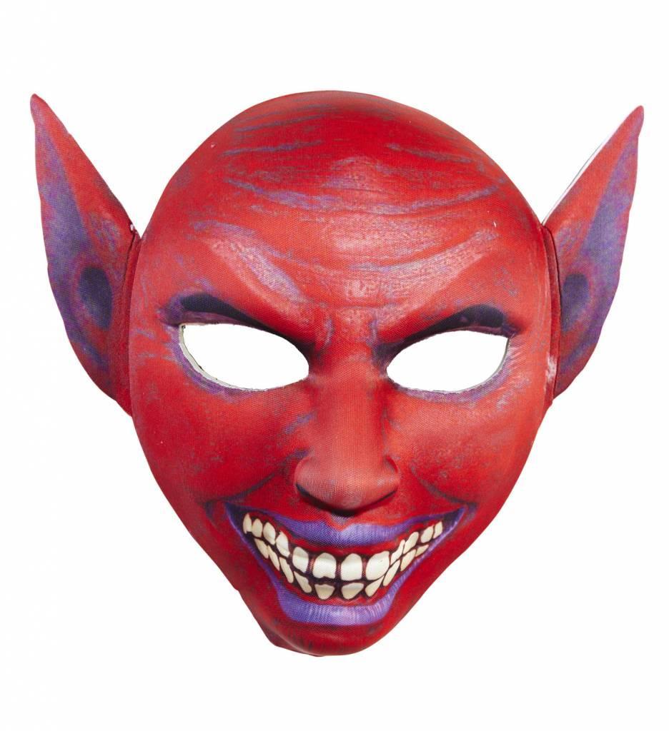 Halfgezichtmasker Duivel