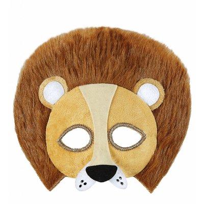 Pluche Oogmasker Leeuw