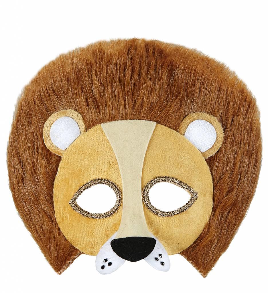 Plushe Oogmasker Leeuw