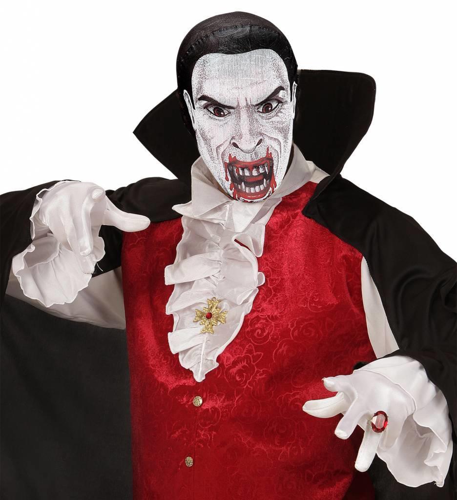 Stoffen Hoofdmasker Vampier