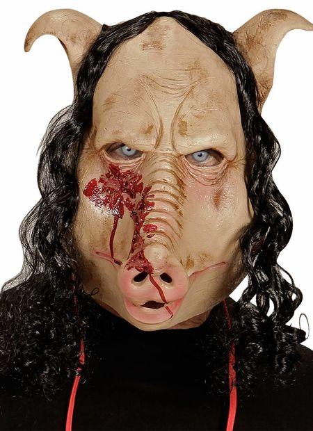 Masker slagerij varken