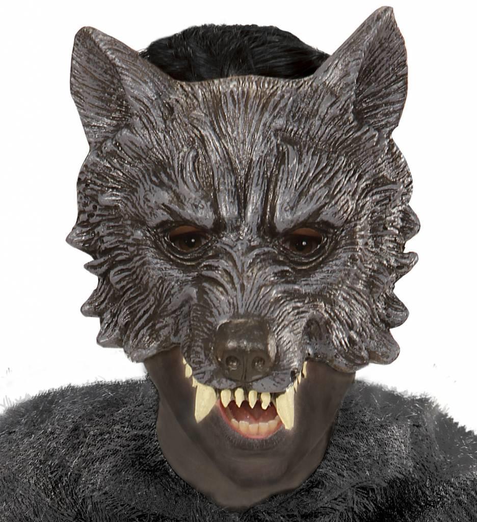 Kindermasker Wolf Foam