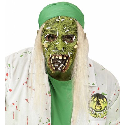 Kindermasker Giftige Zombie Met Haar