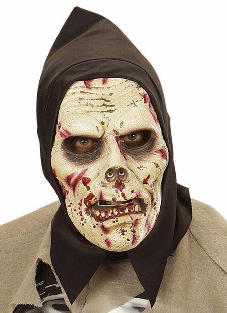 Kindermasker donkere zombie