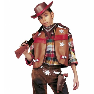 Cowboyset Jongen Bruin