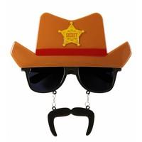 Widmann Bril Cowboy Met Hoed
