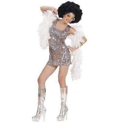 70'S Disco Diva Holografisch