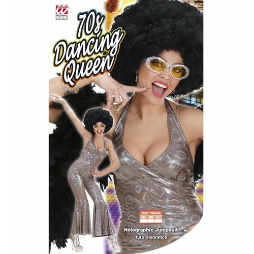 Widmann 70'S Disco Queen Holografisch