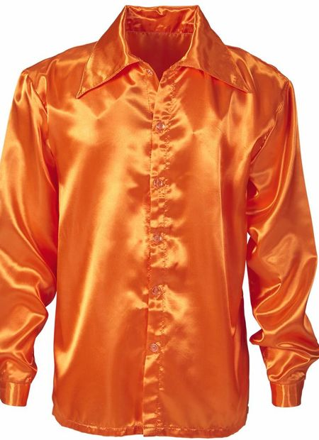 Discoshirt70's oranje