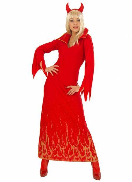 Duivelin jurk