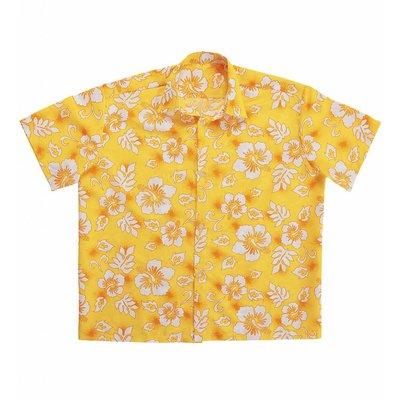 Hawaii Shirt Geel