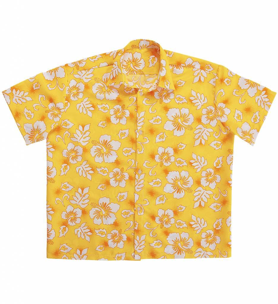 Hawaii Shirt Geel