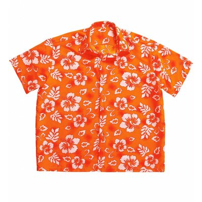 Hawaii Shirt Oranje