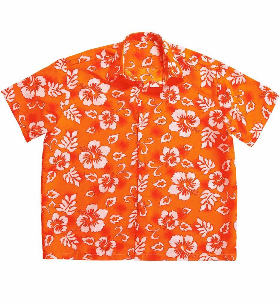 Hawaii Shirt Oranje