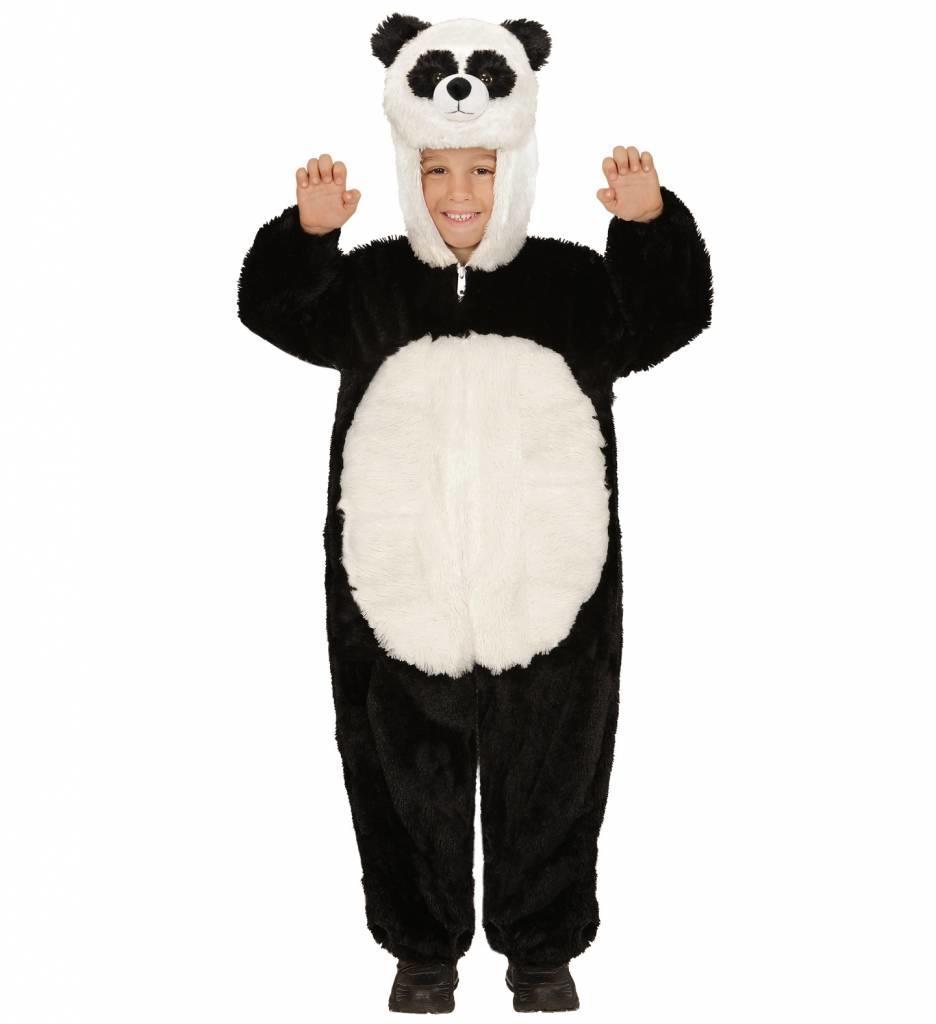 Jumpsuit Met Kap En Masker Panda