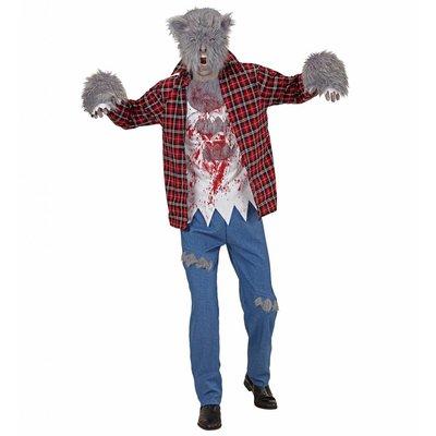 Weerwolf Kostuum Rood