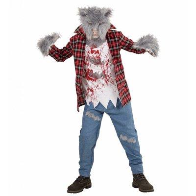 Weerwolf Kostuum Kind Rood