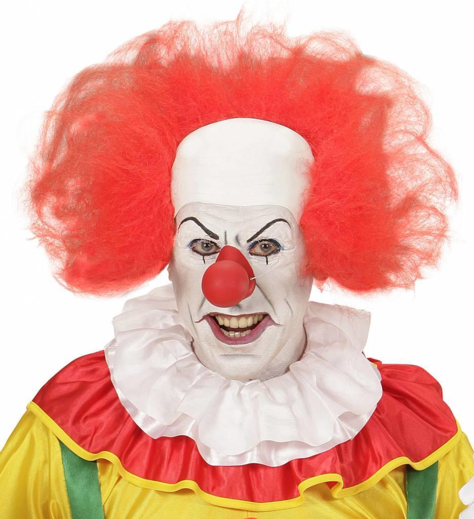 Kale Kop Clown Met Haar