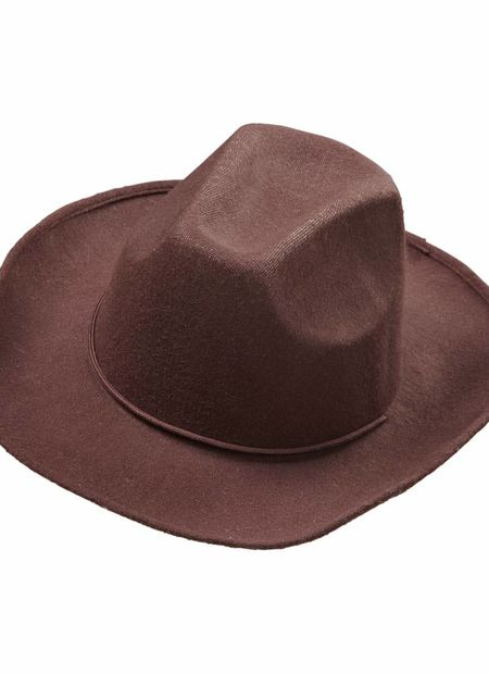 Cowboyhoed bruin, wol