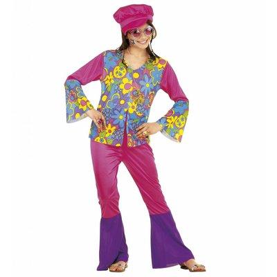 Hippie Meisje Roze