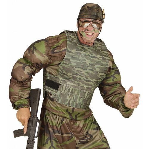 Widmann Kogelvrij Vest Camouflage Volwassen