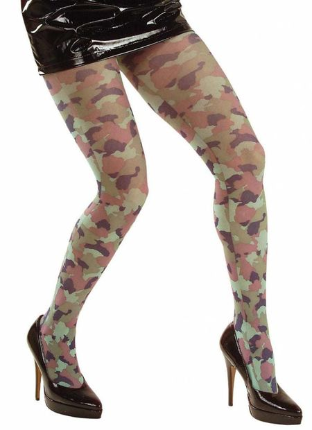 Panty, camouflage