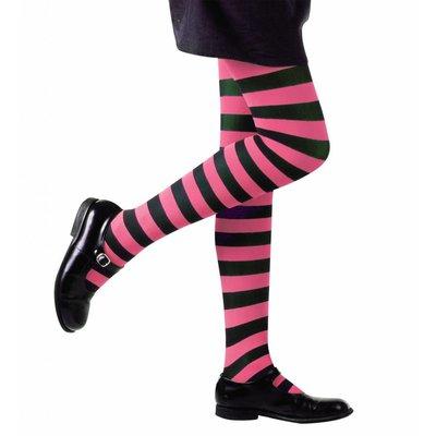 Kinderpanty Gestreept Roze/Zwart